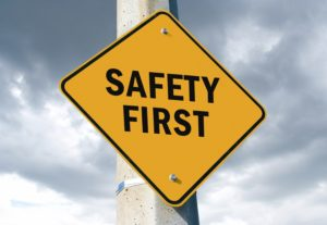 Image That Shows The Safety Symbol.
